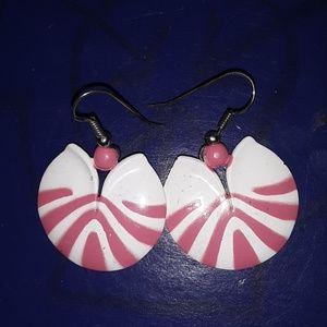Fun 80s earrings